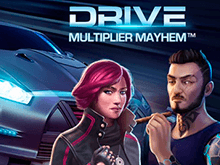 Drive: Multiplier Mayhem – онлайн аппарат для игры на зеркале сайта